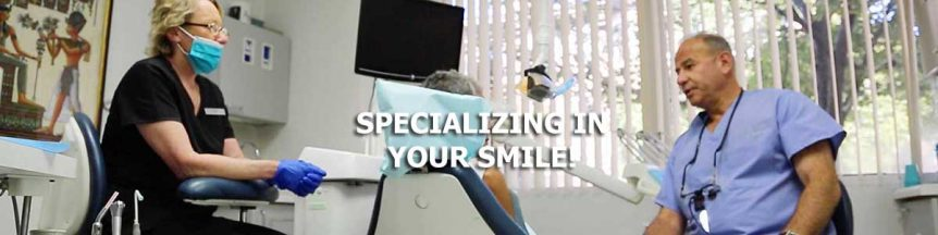 Cosmetic Dentistry - specializing in your smile.