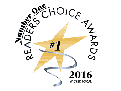 Readers Choice Award 2016 by Wicked Local