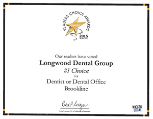 Readers Choice Award 2015 certificate
