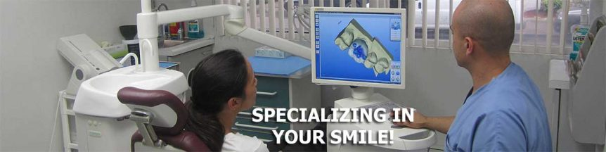 Our dentists specialize in your smile.
