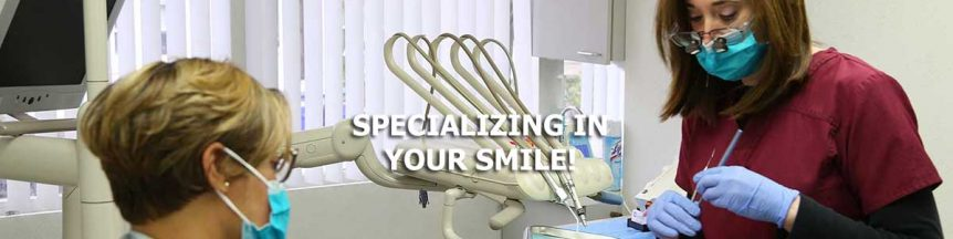 Dr. Lazowski specializes in your smile.