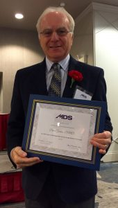 Dr. David Gordon Receives MDS 50-Year Membership Award