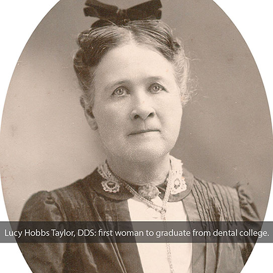 old photo of woman